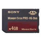 Memory Stick Duo HG 4GB (Original)