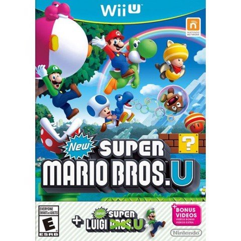 048 - New Super Mario Bros. U + New Super Luigi U