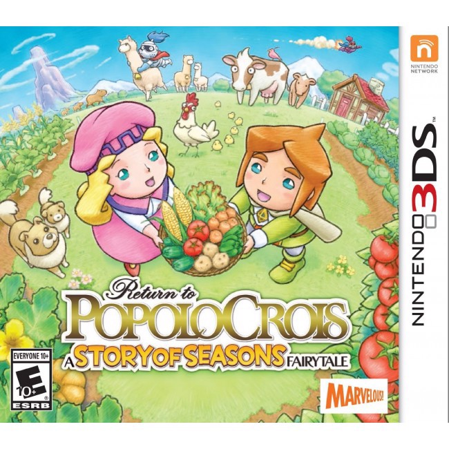 193 - Return to PopoloCrois: A Story of Seasons Fairytale