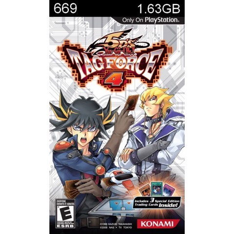 669 - Yu-Gi-Oh! 5D's Tag Force 4
