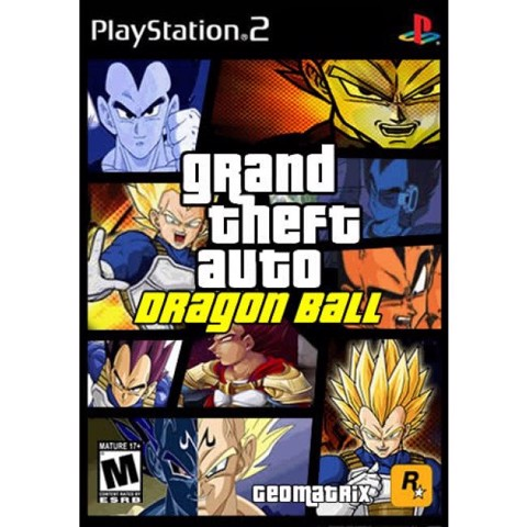 1243 - Grand theft auto dragon ball