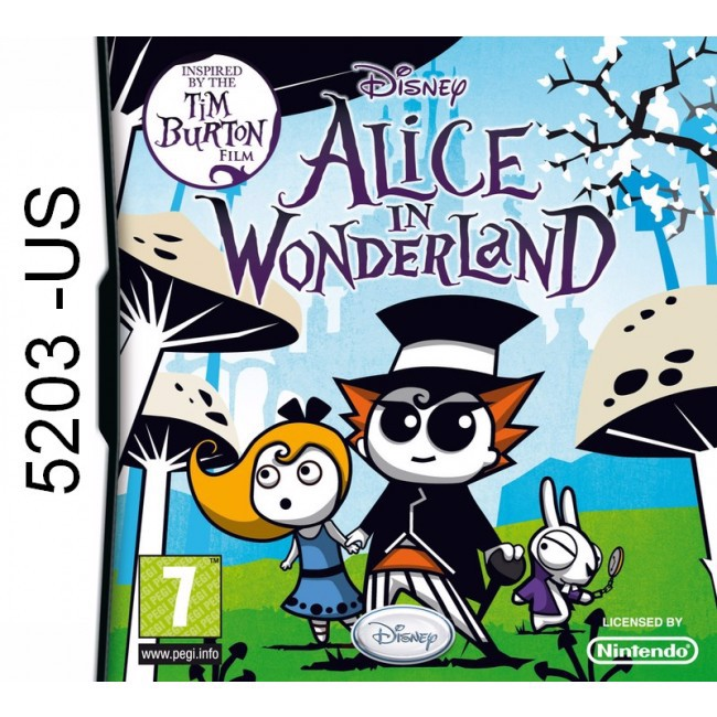 5203 - Alice In Wonderland