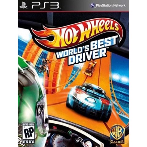 821 - Hot Wheels: World's Best Driver (SALE 70%)