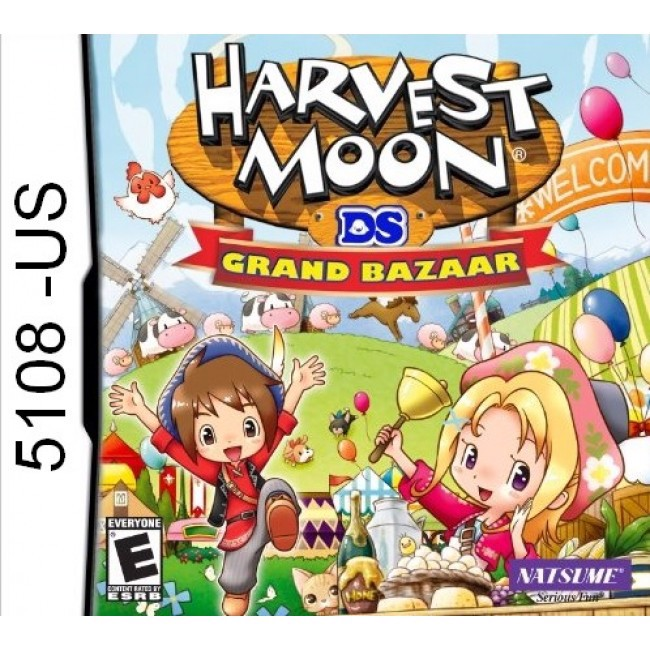 5108 - Harvest Moon DS Grand Bazaar