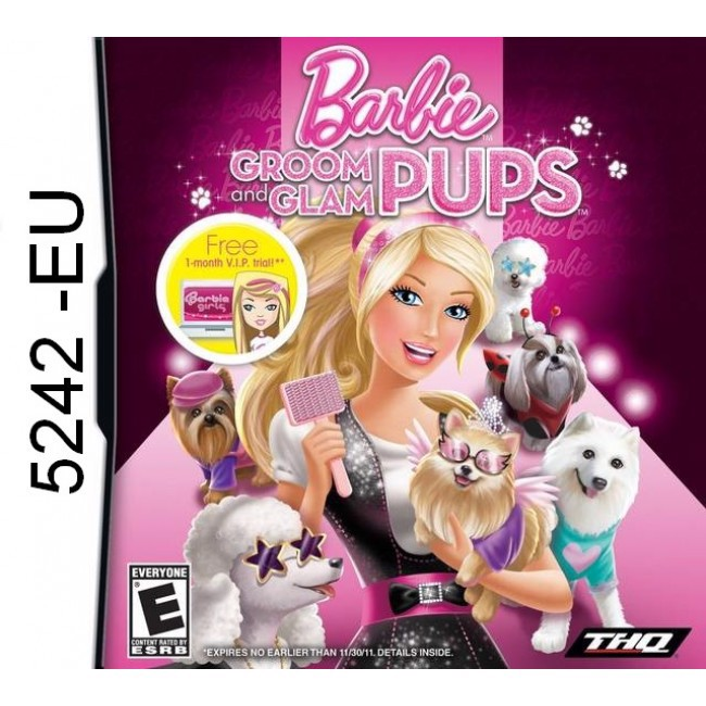 5242 - Barbie Groom and Glam Pups