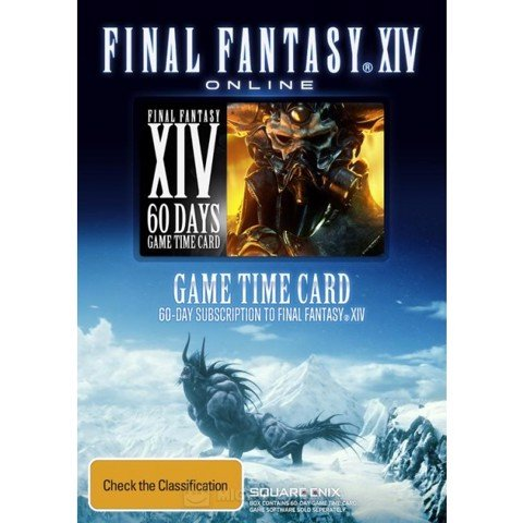 Final Fantasy XIV 60 days - Time Card