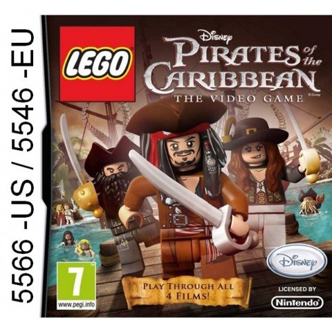 5566 - LEGO Pirates of the Caribbean