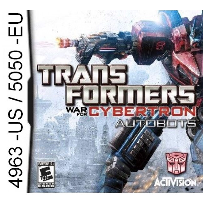 4963 - Transformers War For Cybertron Autobots