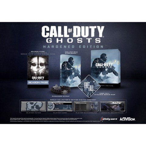 851 - Call of Duty: Ghost Hardened Edition