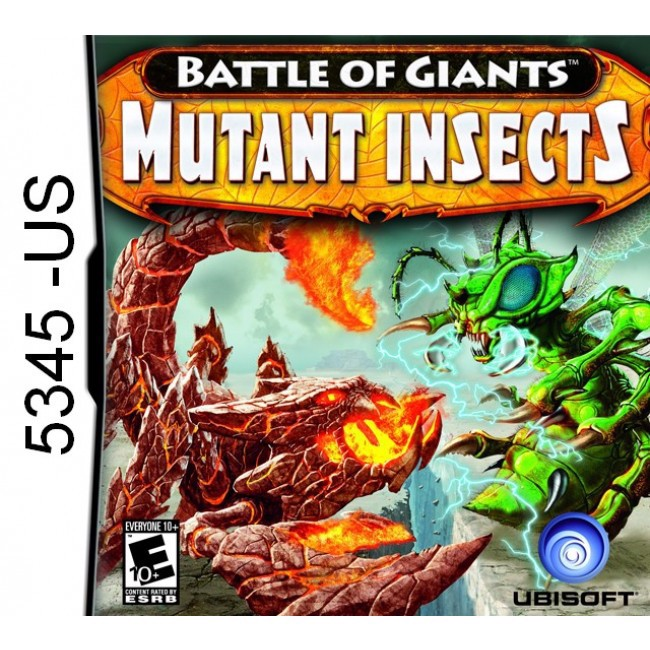 5345 - Battle Of Giants Mutant Insects