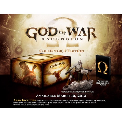 752 - God of War Ascension Collector's Edition