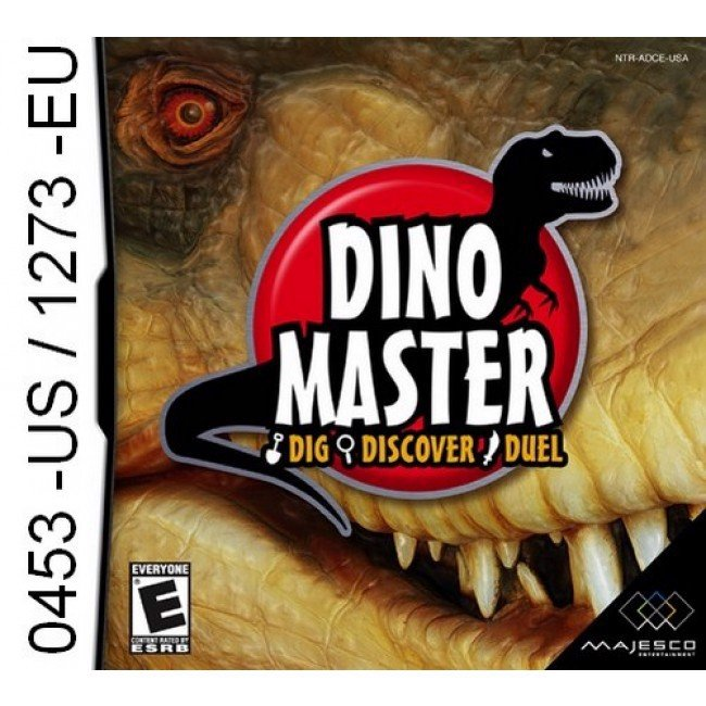 0453 - Dino Master Dig Discover Duel DS