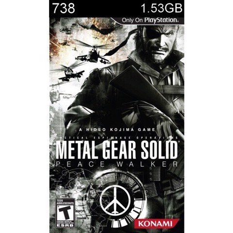 738 - Metal Gear Solid : Peace Walker