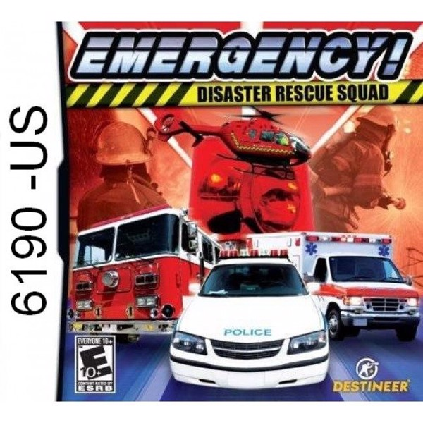 6190 - Emergency! Disaster Rescue Squad (Usa)