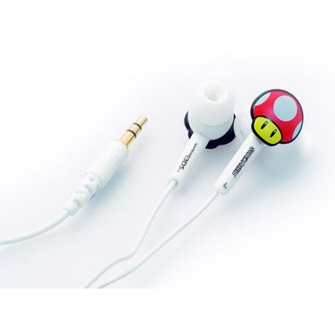 Super Mario Mushroom In-Ear Head