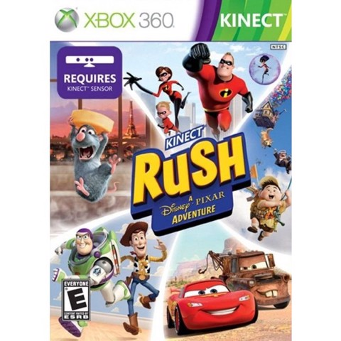 711 - Kinect Rush A Disney Pixar Adventure