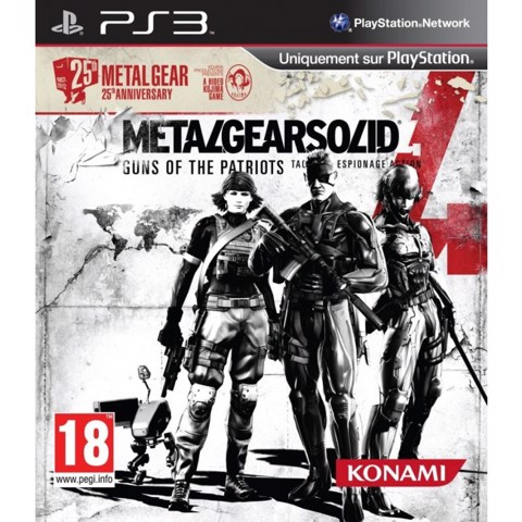 727 - Metal Gear Solid 4 25th Anniversary Edition