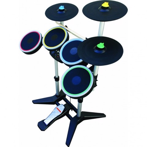 PS3 Rock Band 3 Pro Drum and Pro Cymbals Kit