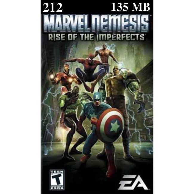 22 - Marvel Nemesis Rise Of The Imperfects