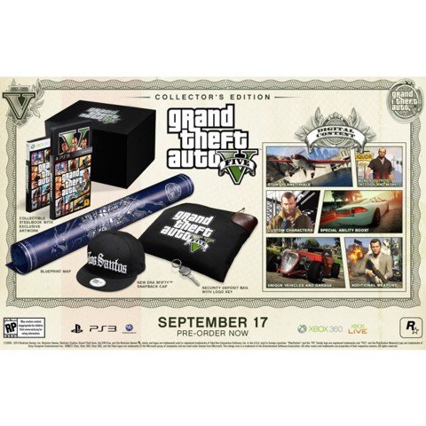 814 - Grand Theft Auto V Collector's Edition