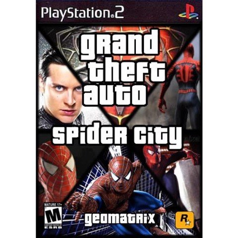 1245 - Grand Theft Auto Spider City