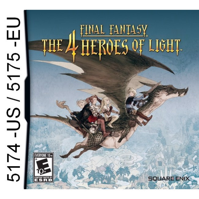 5174 - Final Fantasy The 4 Heroes Of Light