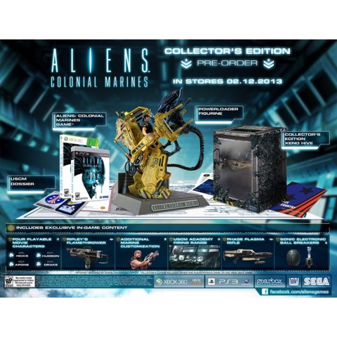 741 - Aliens Colonial Marines Collector's Edition