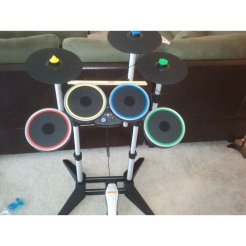 Xbox 360 Rock Band 3 Pro Drum and Pro Cymbals Kit