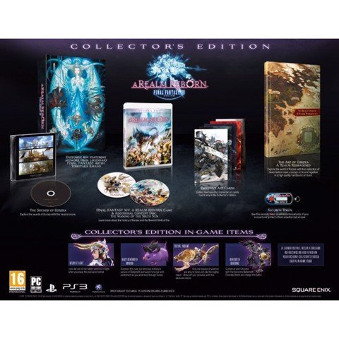 801 - Final Fantasy XIV Online: A Realm Reborn Collector's Edition