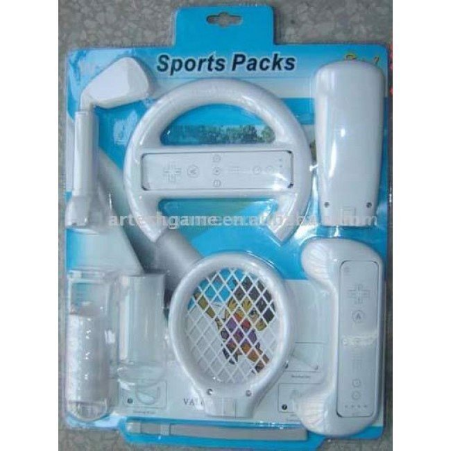 Wii Sports Packs 8 In 1