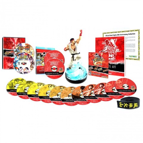 665 - Street Fighter 25th Anniversary Collector's Set
