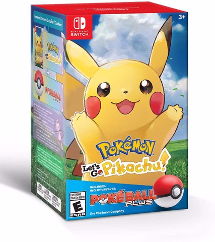 147 - Pokémon: Let's Go, Pikachu! + Poké Ball Plus Pack