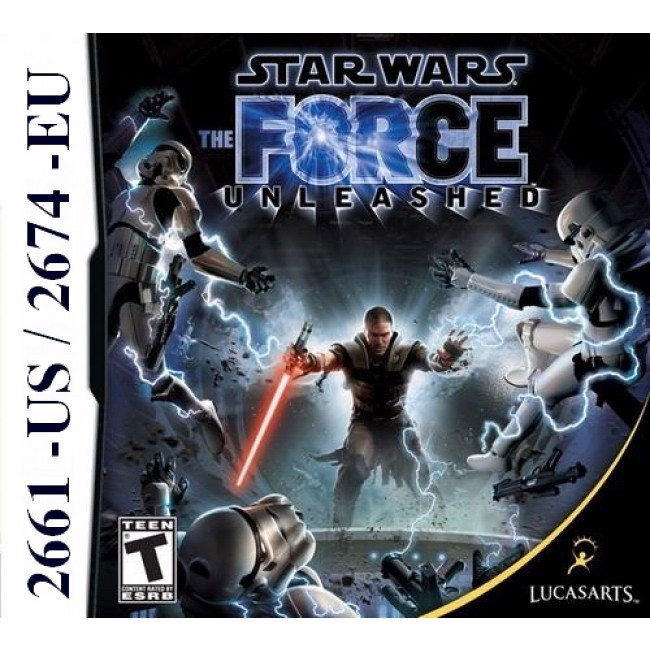 2661 - Star Wars The Force Unleashed