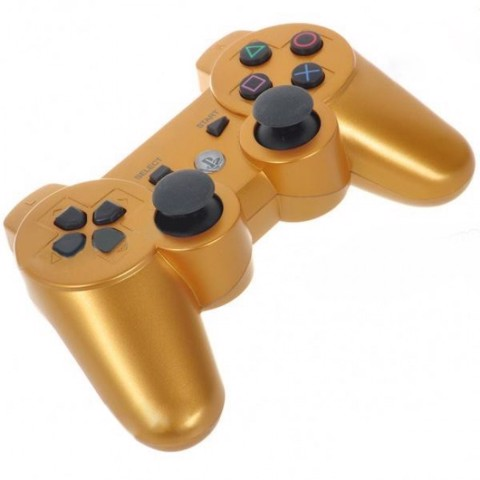 PS3 Dualshock 3 Gold Colored Controller