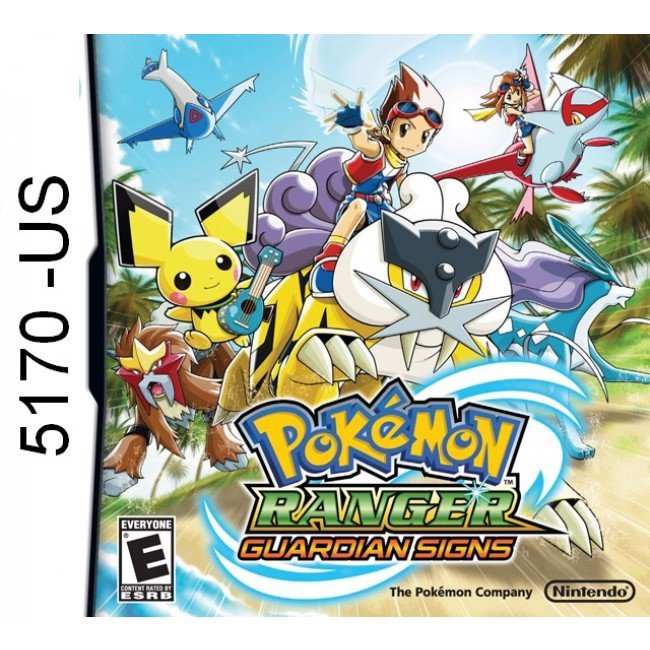 5170 - Pokemon Ranger Guardian Signs