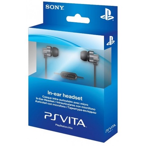 PlayStation Vita In Ear Headset [White Color]