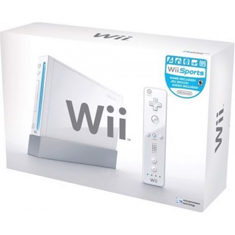 Nintendo Wii - Hack  HDD - SECOND HAND