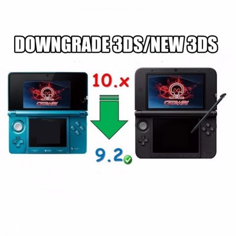 Dịch vụ Hack & Downgrade 3DS
