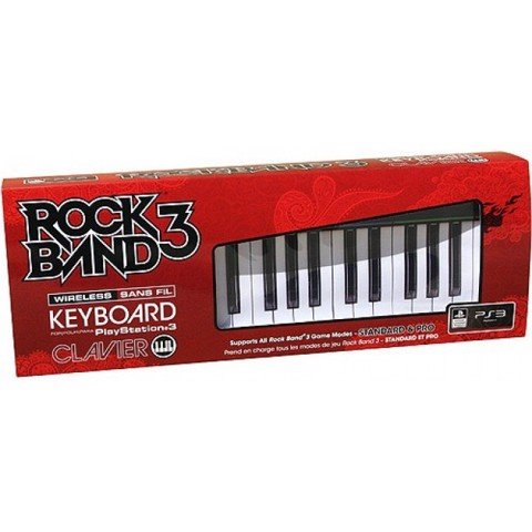 PS3 Rock Band 3 Wireless Keyboard