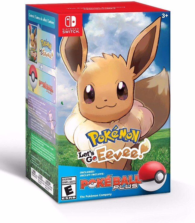 146 - Pokémon: Let's Go, Eevee! + Poké Ball Plus Pack