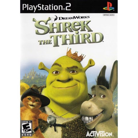 992 - SHREK THE THIRD PS2