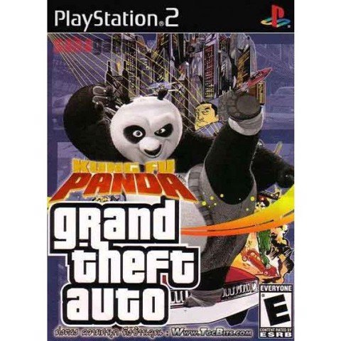1244 - Grand Theft Auto KUng Fu Panda
