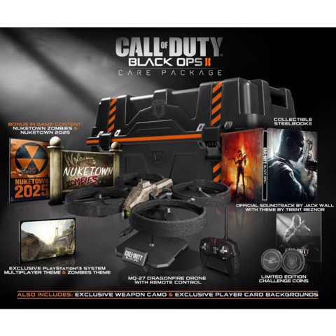 711 - Call of Duty Black Ops II Care Package