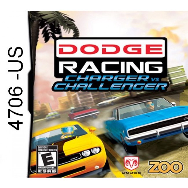 4706 - Dodge Racing Charger vs Challenger