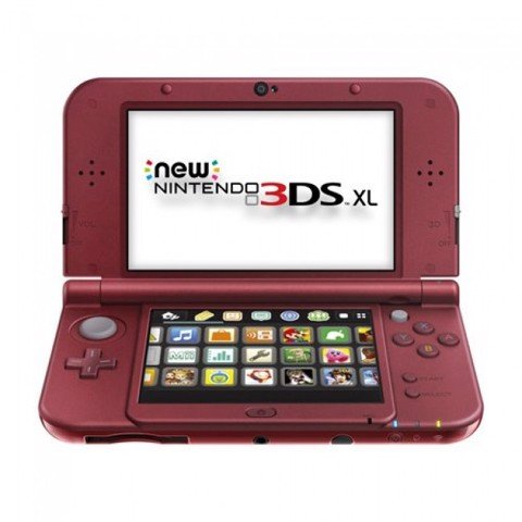 Nintendo New 3DS XL - Red - US Version