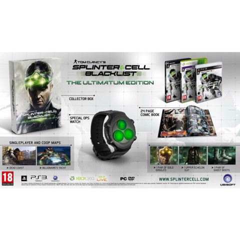 810 - Tom Clancy's Splinter Cell: Blacklist Ultimatum Edition