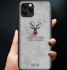Ốp vải hiệu Deer iPhone 12 mini