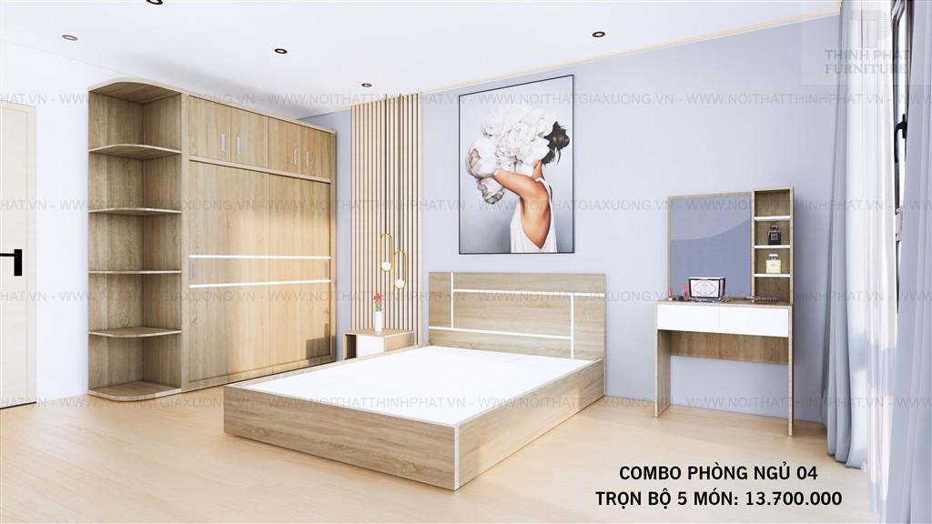 Bộ Phòng Ngủ Đẹp Giá Rẻ