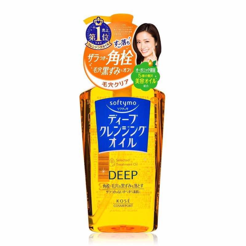 Dầu tẩy trang Kosé Softymo Deep Cleansing Oil 230ml