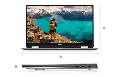 DELL XPS 9365 i7/16/SSD512/ 2in1